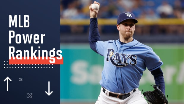 Rays continue to lead Sports Illustrated's power rankings in mid-June.