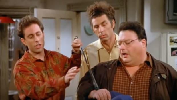 """Still from an episode of """"Seinfeld"""""""