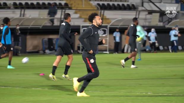 Behind the scenes of Red Bull Bragantino draw vs Fluminense