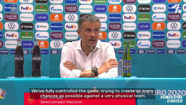 Luis Enrique says he won't change his plan in Spain's next game