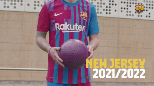Barcelona unveil new 2021-22 Home Kit