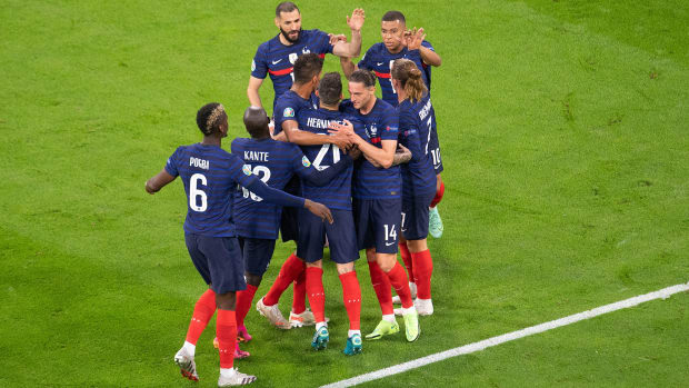 France beats Germany at the Euros