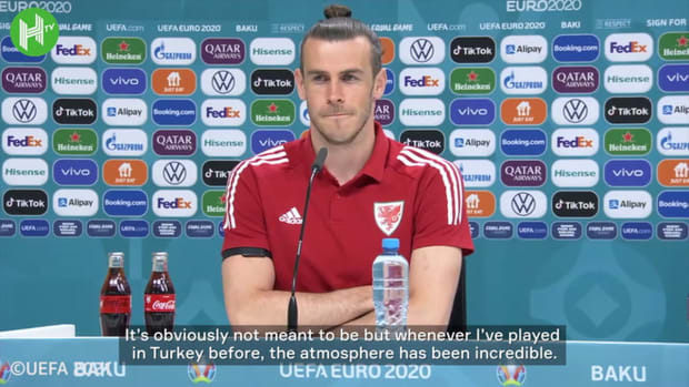 Gareth Bale happy to play in front of hostile Turkey fans