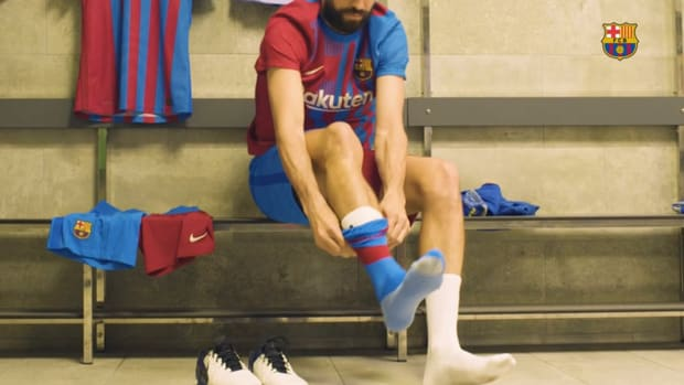 Behind the scenes: Barcelona's New kit 2021/22 reveal