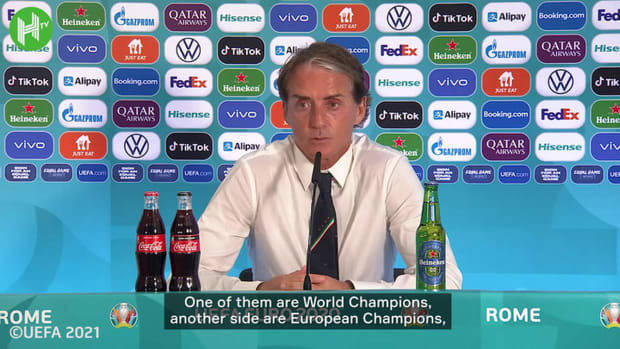 Roberto Mancini believes Italy not favourites but warns best yet to come