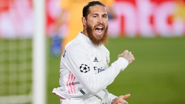 Sergio Ramos for Real Madrid.