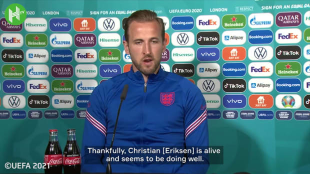 Harry Kane: 'Christian Eriksen is in the hearts of the whole football family'