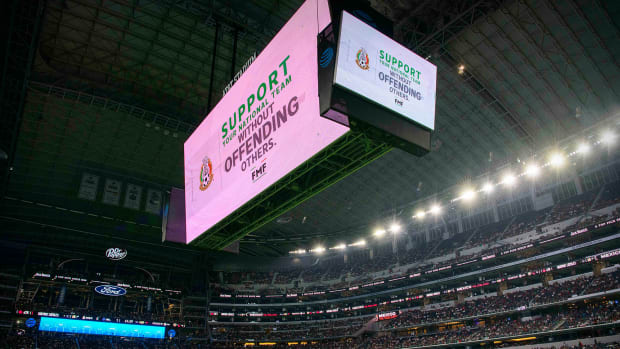 Mexico fans are punished for using an anti gay slur