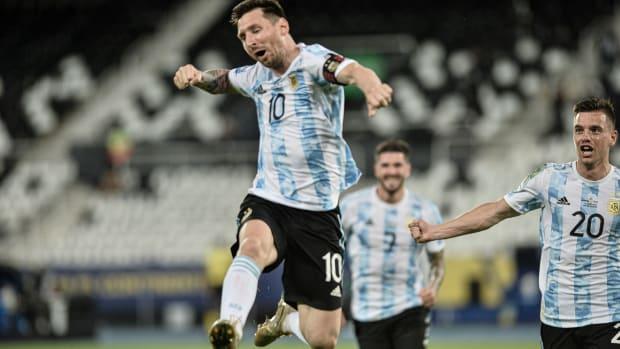 Lionel Messi and Argentina face Uruguay at Copa America