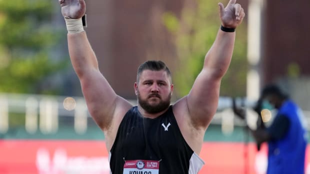 Joe Kovacs Olympics Trials