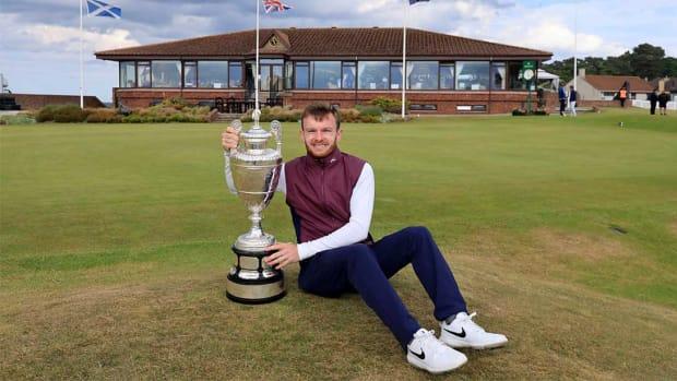 Laird Shepher, 2021 British Amateur Champion