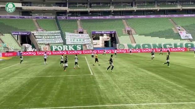 Palmeiras beat América-MG at Allianz Parque