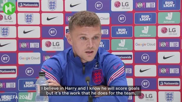 Kieran Trippier: 'Harry Kane will score goals for England at Euro 2020'