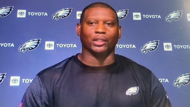 Eagles DB coach Dennard Wilson