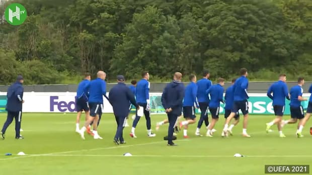 Scotland train without Billy Gilmour ahead of Croatia match