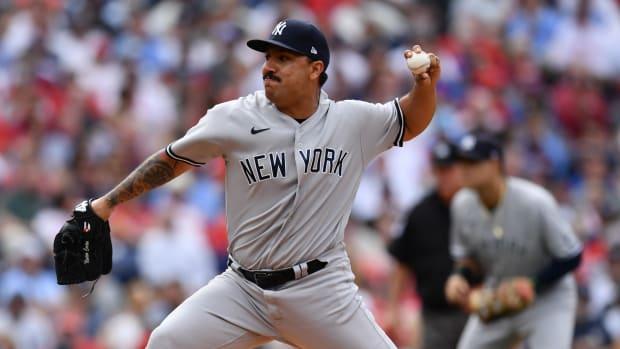 Yankees RP Nestor Cortes pitching