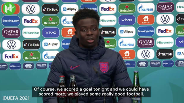 Bukayo Saka feels the confidence flowing for England