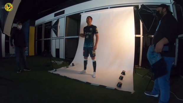 Behind the scenes: Club América's new kit photoshoot