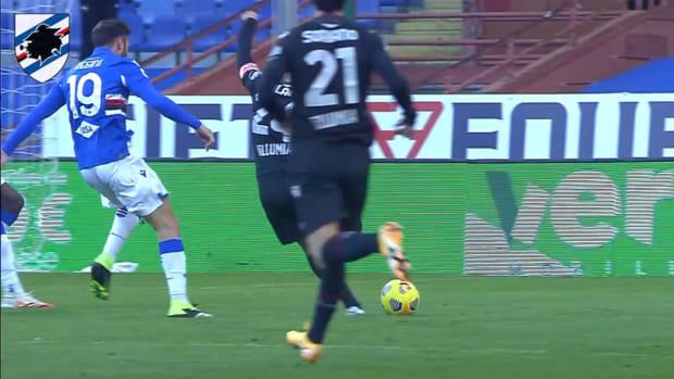 Audero's best saves of 2020-21 with Sampdoria