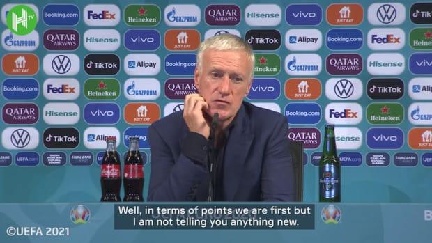 Deschamps gives verdict on France performances at Euro 2020 so far