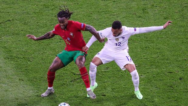 Renato Sanches Corentin Tolisso France Portugal EURO