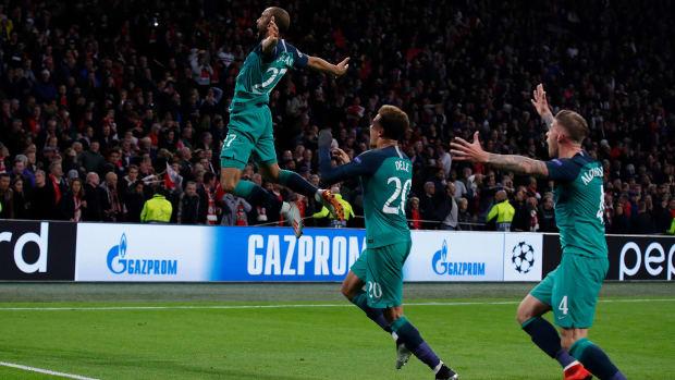 Lucas Moura's away goal