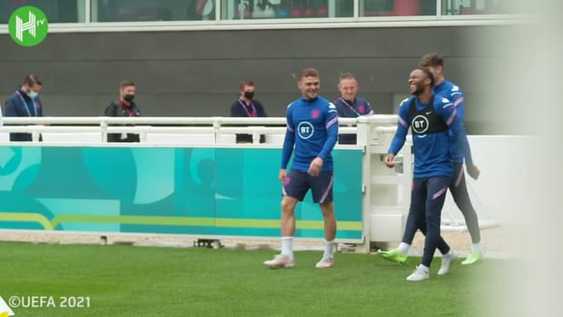 England stars prepare for knockout clash against Germany