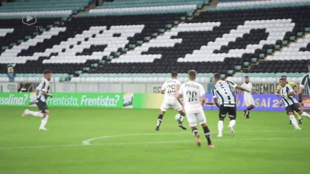 Marcos Guilherme and Marinho secures a point for Santos against Grêmio