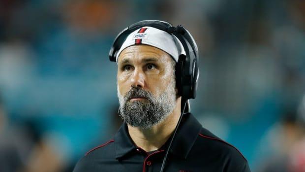 Falcons coach Jeff Ulbrich