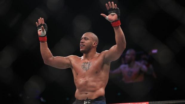 UFC MMA Ciryl Gane