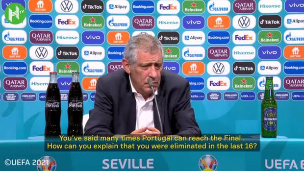 Fernando Santos believes Belgium result was unfair