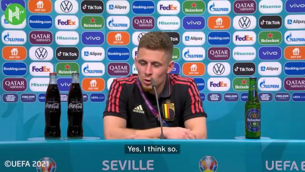Thorgan Hazard on his Portugal wondergoal and Belgium's injury worries