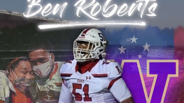 Ben Roberts has committed to the UW.