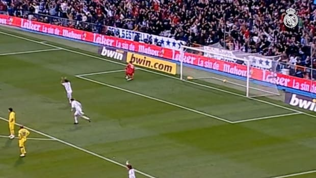 Great goals of left-footed players of Real Madrid