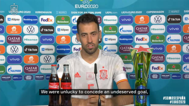Busquets: 'We suffered, but we deserved it'