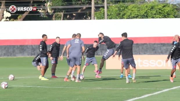 Vasco's last training session before Goiás clash