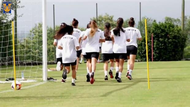 Tigres Femenil's pre-season work