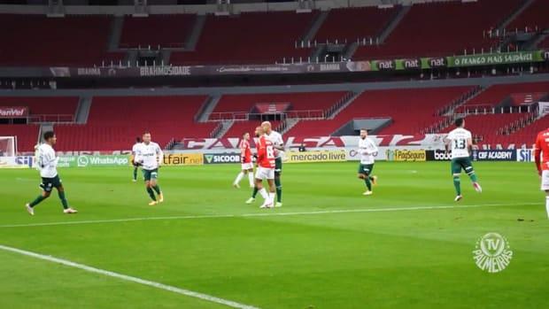 Danilo's last-minute goal secures Palmeiras win against Inter