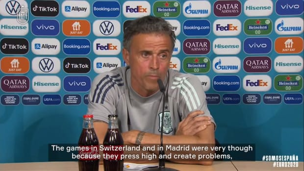 Any better team than Spain? 'No,' says Luis Enrique