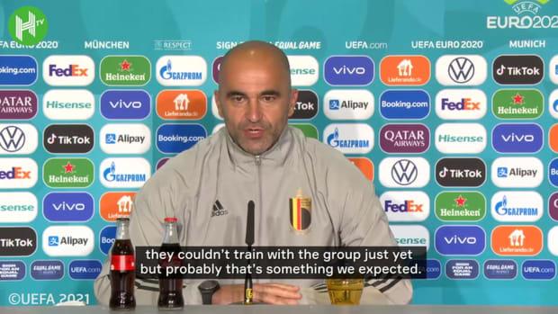 Martinez gives update on De Bruyne, Hazard availability