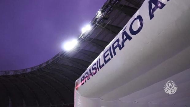 Behind the scenes of Palmeiras' away victory over Internacional