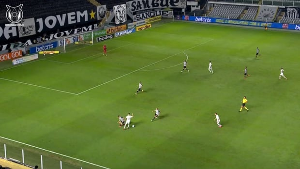 Marcos Guilherme's amazing dribble against Atlético-MG