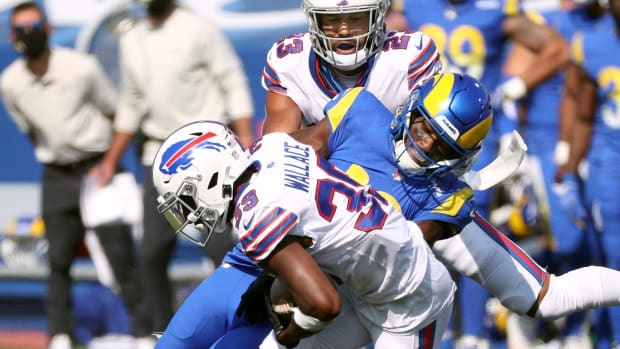 Levi Wallace will have to win back his starting job with the Buffalo Bills this season.