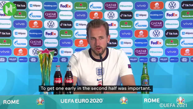 Kane on his return to form, and England winning for Southgate