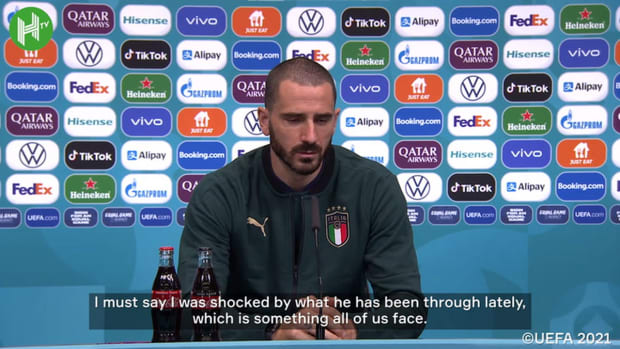 Bonucci: 'Morata is one of the best strikers'