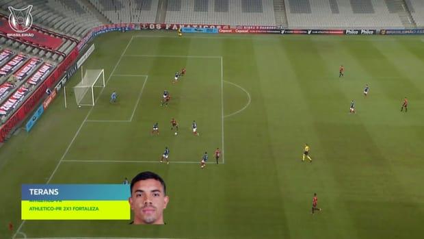 Top three goals of 2021 Brasileirão's Week 9