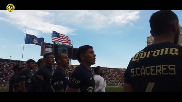 Behind the scenes: Club América's victory against Santos in Salt Lake City