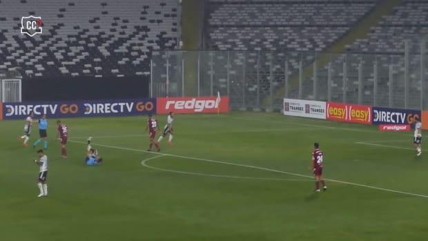 Colo-Colo's 4-0 win against La Serena