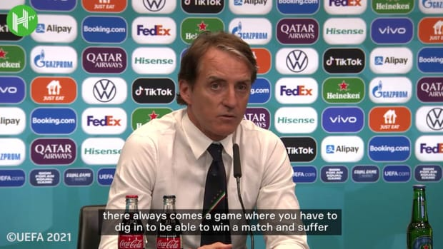 Mancini expected Spain to be toughest test