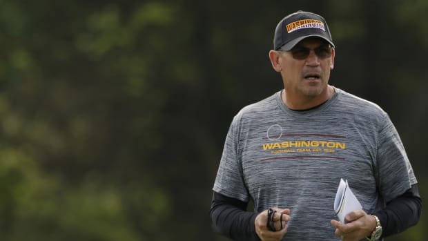 WFT coach Ron Rivera